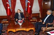 Erdoğan, Demirören ve Lucescu'yu kabul etti