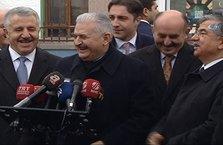Başbakan Yıldırım'ın esprisi güldürdü