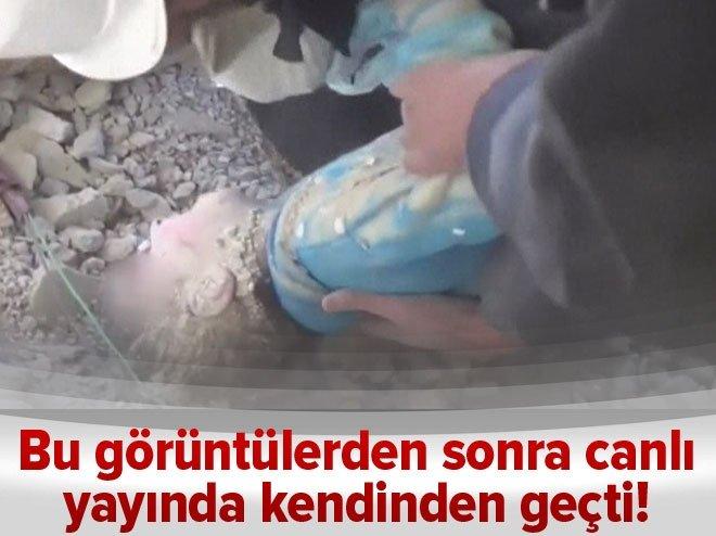 Canlı yayında kendinden geçti: Bu küçük kız terörist mi?