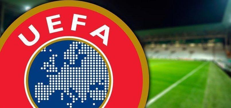 UEFA'DAN TAZİYE MESAJI