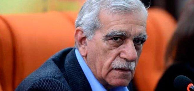 HDP'Lİ AHMET TÜRK'E HAPİS CEZASI