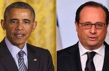 Obama'dan Hollande'a teşekkür telefonu