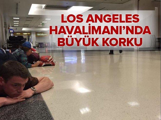 Los Angeles Havalimanı'nda alarm