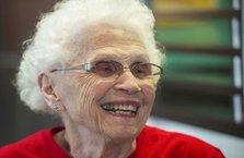 94 yaşında ama hala mesai yapıyor!