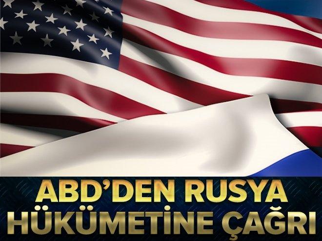 """ABD'den Rusya'ya """"gözaltı"""" eleştirisi"""
