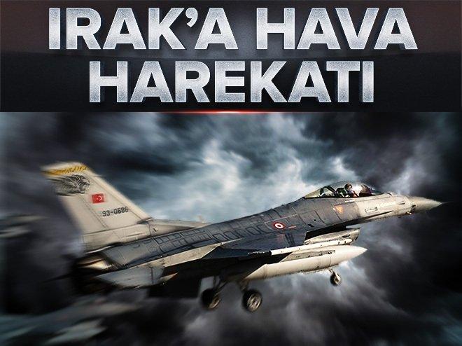 TSK'dan Irak'ın kuzeyi ve Hakkari'ye hava harekatı