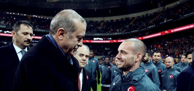 ERDOĞAN'DAN SNEİJDER'E ÖVGÜ!