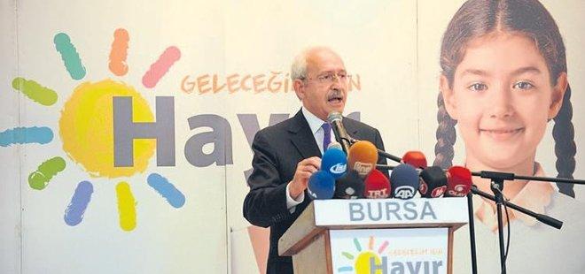 CHP'NİN 'HAYIR' AFİŞİNDEKİ ÇOCUK BİLE YABANCIYMIŞ!