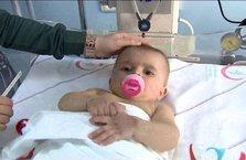 Doğduğu hastaneden taburcu olamadı