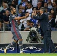 Porto - Beşiktaş maçından kareler