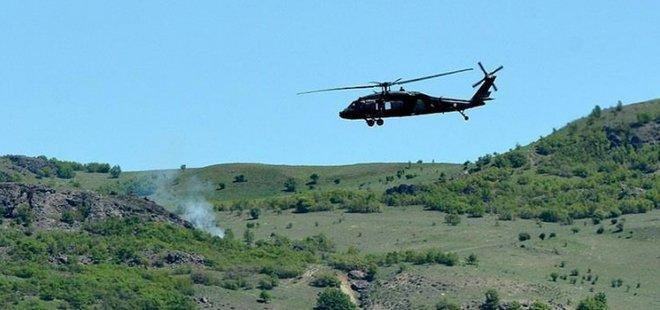 PKK'LI TERÖRİSTLERE HAVA DESTEKLİ OPERASYON