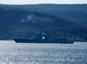 Çin savaş gemileri Çanakkale Boğazı'ndan geçti