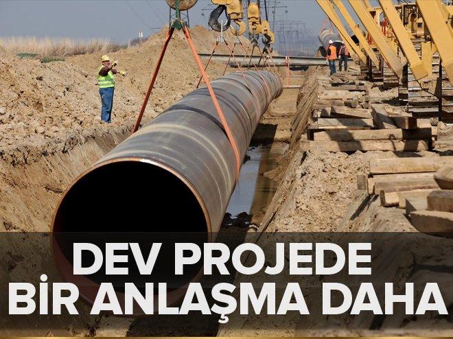 Gazprom'dan Türk Akımı için bir anlaşma daha
