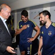 Cumhurbaşkanı Recep Tayyip Erdoğan, Fenerbahçe'yi tebrik etti