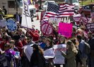 ABD'Lİ KADINLAR BEYAZ SARAY'A YÜRÜDÜ