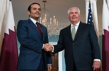 Katar tepkisini ABD'de gösterdi!