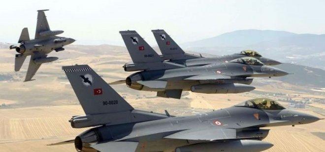 JETLERİMİZ PKK'NIN TEPESİNE BİNDİ