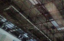 Termal otelde çatı faciası!