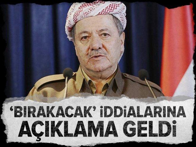 Mesut Barzani'nin görevini bırakacağı haberleri yalanladı