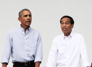 Eski ABD Başkanı Obama Endonezya'da