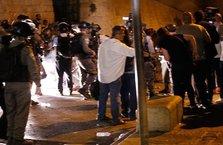 İsrail polisinden Filistinlilere insanlık dışı saldırı!