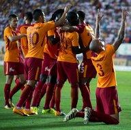 Osmanlıspor - Galatasaray maçından kareler