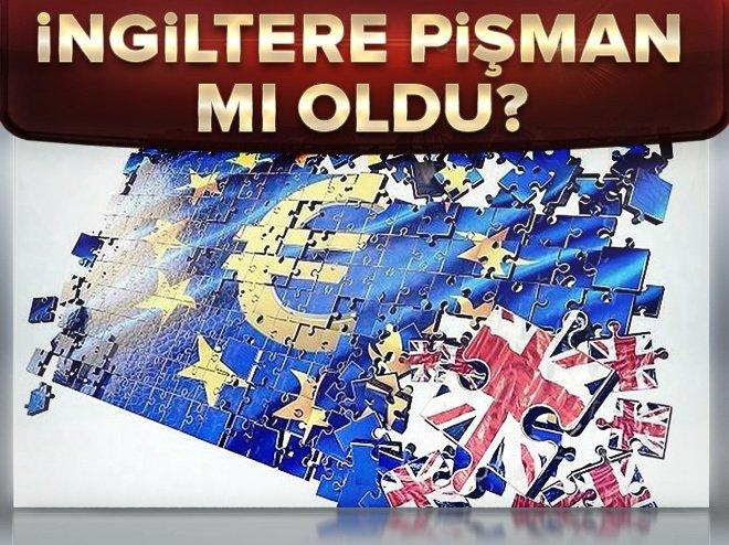 İngiltere pişman mı oldu?