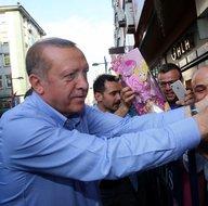 Rize'de Cumhurbaşkanı Erdoğan coşkusu