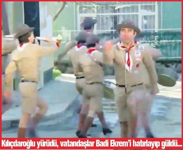 Kılıçdaroğlu'nun başlattığı yürüyüş sosyal medyada eğlence konusu oldu