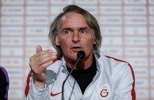 Riekerink Galatasaray'ın ilk 11'ini belirledi