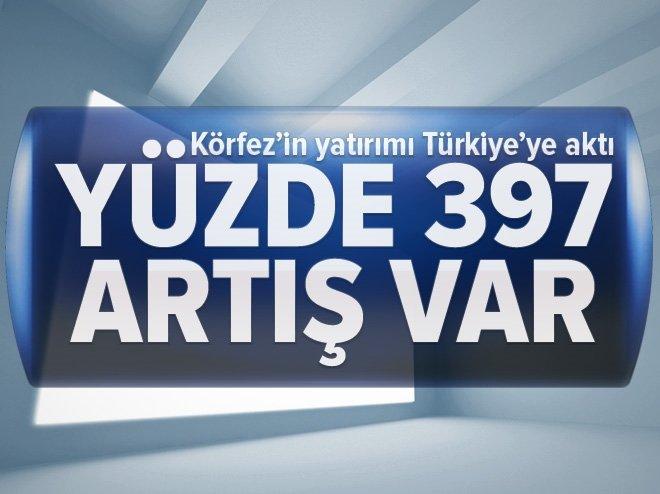 Körfez'in yatırımı Türkiye'ye aktı! Yüzde 397 artış var