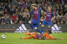 Messi haftanın en iyisi seçildi