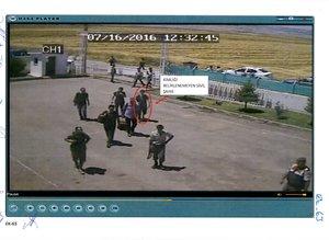 Adil Öksüz'ün jandarma karakoluna getirilmesine ilişkin görüntüler ortaya çıktı