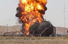 Petrol kuyusuna saldırı düzenledi