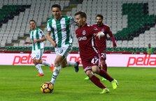 Atiker Konyaspor ve Trabzonspor yenişemedi