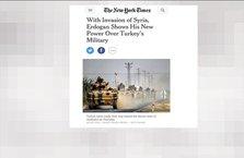 NY Times Cerablus harekatına 'istila' dedi