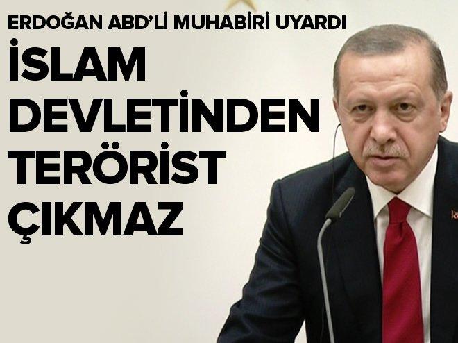 """""""İslam devletinden terörist çıkmaz"""""""