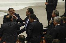 TBMM Başkanı Kahraman ile HDP'li vekiller arasında tartışma