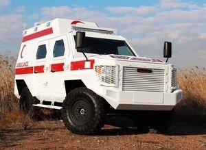 Zırhlı ambulans görücüye çıkıyor