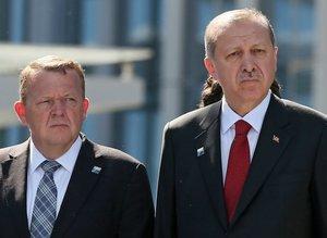 Erdoğan, NATO Karargah binasının devir teslim törenine katıldı