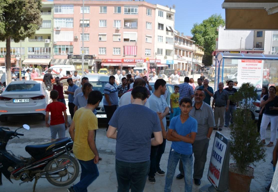 Ege'de meydana gelen deprem sonrası ilk fotoğraflar
