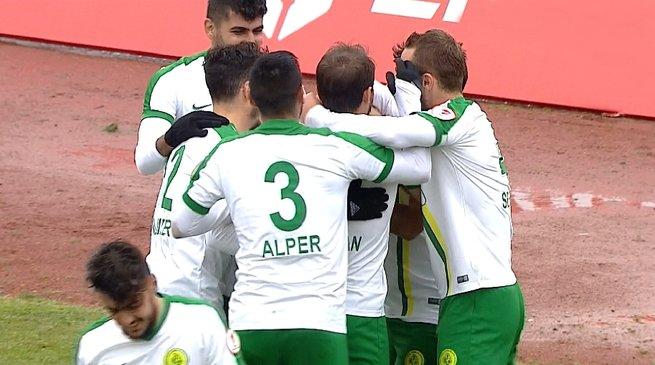 Darıca Gençlerbirliği Kayserispor'u mağlup etti