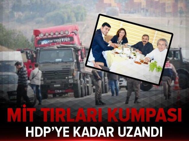 MİT TIR'ları kumpası HDP'ye kadar uzandı