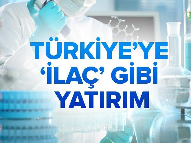 Türkiye'ye 'ilaç' gibi yatırım