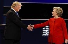 Clinton ve Trump kozlarını paylaştı