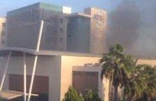 ATSO binasında patlama meydana geldi