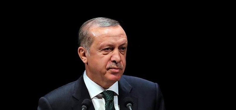 CUMHURBAŞKANI ERDOĞAN, AZERBAYCAN'IN BAĞIMSIZLIĞININ 25. YIL DÖNÜMÜNÜ KUTLADI
