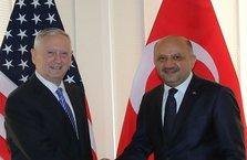 Milli Savunma Bakanı Işık, ABD'li mevkidaşı Mattis ile görüştü